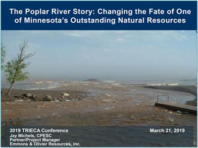 Poplar River Story presentation cover page