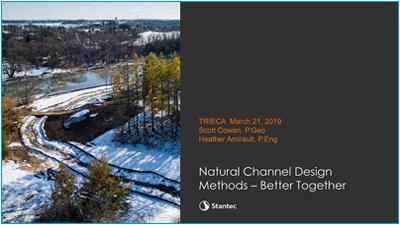 Natural Channel Design Methods presentation cover page